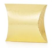 Picture of Embalagem de presente dourada almofadada