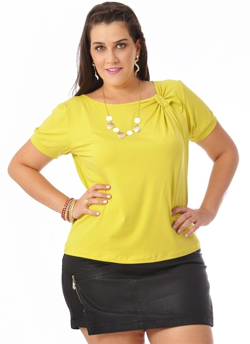 f7ca54246d Picture of Blusa Feminina Strass Plus Size