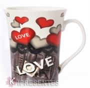 Picture of Caneca personalizada Love coração vermelho