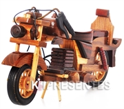 Picture of Miniatura Moto de Madeira Grande