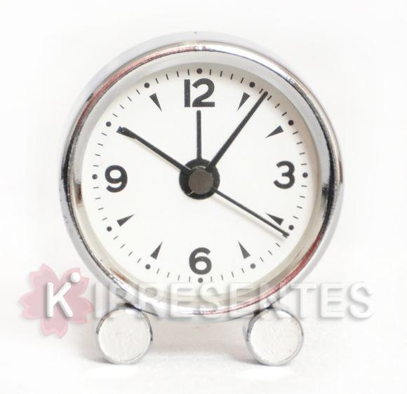 0cee4e12bad Picture of Mini Relógio de mesa Cromado