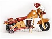 Picture of Moto Miniatura Madeira Banco mogno