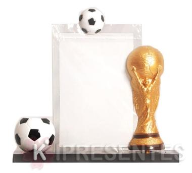 Picture of Porta Retrato Lápis Taça Futebol