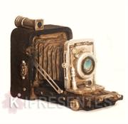 Picture of Câmera Fotográfica Antiga retro