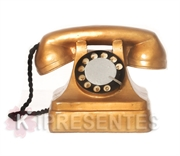Picture of Telefone Retro Dourado