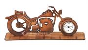 Picture of Relógio Moto Madeira