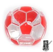 Picture of Porta Cartão Bola De Futebol Vermelha