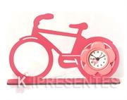 Picture of Relógio bicicleta Flor Rosa