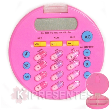 Picture of Calculadora Comprimido Rosa