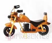 Picture of Moto de Madeira banco Preto