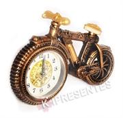 Picture of Relógio Bicicleta Clássica Dourada