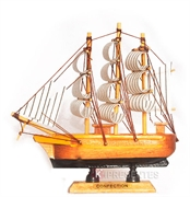Picture of Miniatura Barco Madeira
