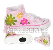 Picture of Cofre Tênis Rosa Flores All Star Flores