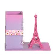 Picture of Porta Lápis Torre Eiffel Rosa