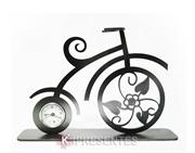 Picture of Relógio Bicicleta Antiga Prata Envelhecida