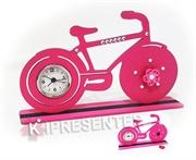 Picture of Bike Relógio Rosa Strass ima