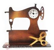 Picture of Relógio Máquina Costura Dourada