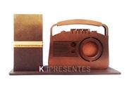 Picture of Porta Lápis Decorado Rádio Retro