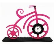 Picture of Bicicleta Antiga Rosa Relógio