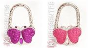 Picture of  Suporte Bolsa borboleta roxo e rosa 45 peças