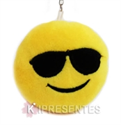 Picture of Chaveiro de Pelúcia Smile Emoticons Óculos Escuro