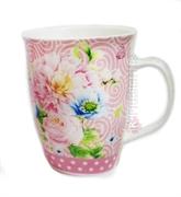Picture of Caneca de porcelana personalizada florida