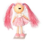Picture of Menina Vestido Rosa Miniatura