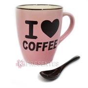 Picture of Caneca com Colher I Love Coffe