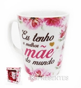 Picture of Caneca Porcelana Mães Flores
