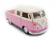 Picture of Miniatura Kombi 1963 Volkswagen Bus Pickup Rosa