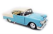 Picture of Carro Antigo Miniatura Chevy Classic Azul Branco