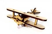 Picture of Miniatura Avião Antigo mdf Cru