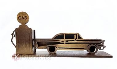 Picture of Porta Caneta Carro Antigo e Bomba Gasolina Mini