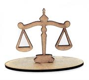 Picture of Lembrancinha Profissão Justiça Direito Advogado Balança Miniatura