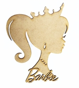 Picture of Decoração Barbie em Mdf