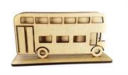 Picture of Porta Cartão mdf ônibus inglês Miniatura
