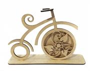 Picture of Bicicleta Clássica Flores em Mdf