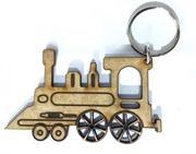 Picture of Chaveiro Trem Miniatura Mdf