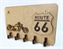 Picture of Porta Chaves Moto Antiga Vintage Route 33 Mdf