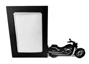 Picture of Porta Retrato Moto Classica Vintage Mdf
