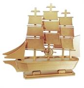 Picture of  Caravela  Barco de madeira Dourado